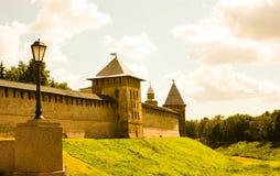 Cremlino in Veliky Novgorod Immagini Stock