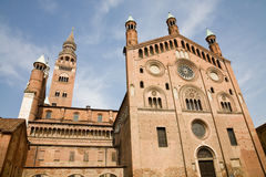 Cremona cathedral, Italy Stock Images