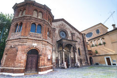 Cremona, church of San Luca Royalty Free Stock Images