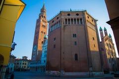 Cremona domkyrka Royaltyfri Foto