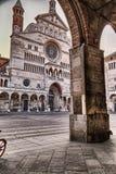 Cremona domkyrka Royaltyfri Bild