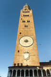 Cremona, Duomo belfry Royalty Free Stock Photography
