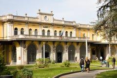 Cremona dworzec obrazy stock