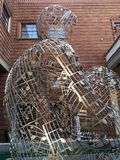 Cremona Italië beeldhouwwerk Stock Afbeelding