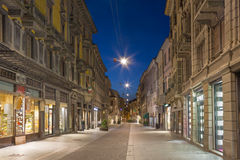 Free CREMONA, ITALY - MAY 24, 2016: The Street Of Old Town In Morning Dusk Stock Photos - 85350903