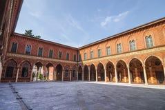 Cremona, Palazzo Trecchi Stock Image