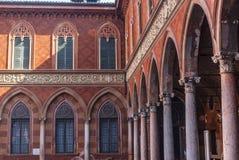 Cremona, Palazzo Trecchi Royalty Free Stock Photos
