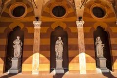 Cremona, Palazzo Trecchi Stock Photography
