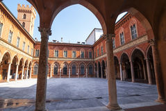 Cremona, Palazzo Trecchi Stock Images