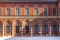 Cremona, Palazzo Trecchi Royalty Free Stock Images