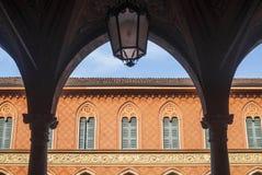 Cremona, Palazzo Trecchi Stock Photo