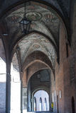 Cremona, portico Royalty Free Stock Photography