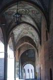 Cremona, portico Fotografia de Stock Royalty Free