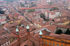 Cremona top view Stock Photography