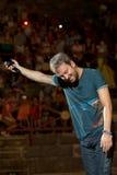 Cremonini realiza vivo en la arena Fotografía de archivo