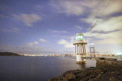 Cremorne punktu latarnia morska zdjęcie royalty free