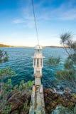 Cremorne punktu latarnia morska na Sydney schronieniu Obrazy Stock