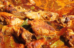 Creole chicken stock photography