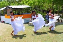 Creole dancers - Sega dance. Stock Photos