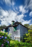 Creole house in countryside Stock Image