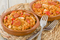 Creole Jambalaya Royalty Free Stock Photography