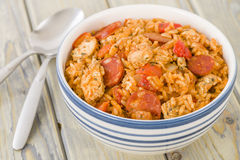 Creole Jambalaya Royalty Free Stock Photos