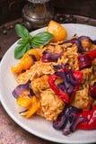 Creole spicy Jambalaya Stock Photos