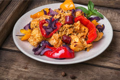 Creole spicy Jambalaya Royalty Free Stock Image