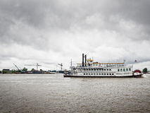 Creole Queen River Boat in New Orleans stock photo
