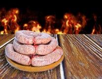 Creole sausage. Royalty Free Stock Image