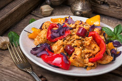 Creole spicy Jambalaya Royalty Free Stock Photos