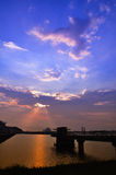 Crepúsculo Imagem de Stock Royalty Free