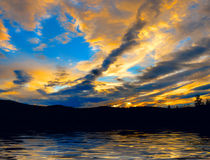 Crepúsculo Fotografia de Stock Royalty Free