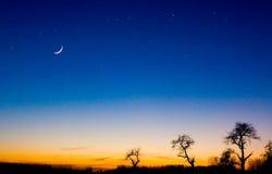 Crepúsculo fotografía de archivo libre de regalías