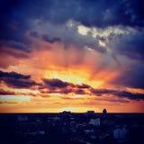 Crepúsculo Fotografía de archivo