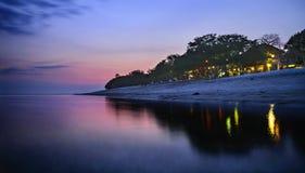 Crepúsculo Foto de archivo libre de regalías