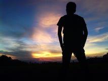 crepúsculo Fotografia de Stock