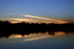 Crepúsculo Fotos de archivo libres de regalías