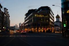Crepúsculo adiantado Imagens de Stock