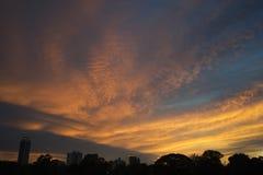 Crepúsculo bangkok5 Imagem de Stock Royalty Free