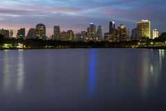 Crepúsculo Bangkok7 Imagem de Stock