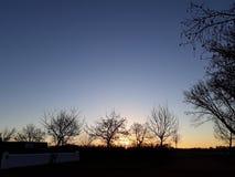Crepúsculo bonito da noite imagens de stock royalty free