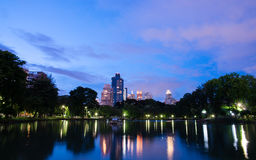 Crepúsculo da cidade Foto de Stock