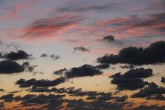 Crepúsculo da fusão da cor Imagens de Stock Royalty Free