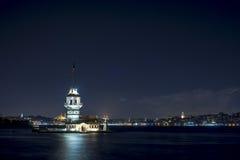 Crepúsculo de Estambul Fotografía de archivo libre de regalías