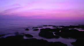 Crepúsculo de Goa Fotos de Stock