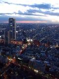 Crepúsculo de Tokyo fotos de stock