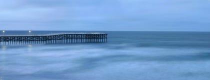Crepúsculo del Océano Pacífico Fotos de archivo libres de regalías