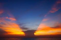 Crepúsculo do céu Foto de Stock