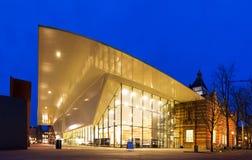 Crepúsculo do museu de Stedelijk Imagens de Stock